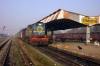 IZN YDM4 6753 at Pilibhit Jct with 15314 0630 Izatnagar - Aishbagh
