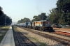 LDH WDG3A 14831 (with LKO WDM3A 16308 dead) departs Jais with 54254 0450 Lucknow Charbagh - Prayag Jct; just the 5h06m late!