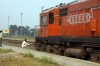 SPJ WDM3A 16260 waits at Dumra with 55506 1145 Muzaffarpur Jct - Samastipur Jct; via the new line to Sitarmarhi Jct
