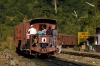Travelling by goods train, on the side of the loco, between Harangajao & Jatinga; Jatinga, Assam