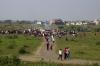 Some sort of celebration going on at Kalumna, near Nagpur, Maharashtra