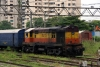 Ex VSKP WDM2 17373 shunting at Byculla Yard, Mumbai