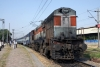 LDH WDG3A 14710 at Delhi Kishanganj with 54502 0505 Bhiwani Jct - Delhi Jct