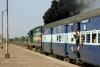 KTE WDM3A 16011 departs Sihora Road with 12182 1725 (16/10) Jaipur - Jabalpur