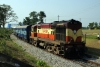 VSKP WDM3A 16436 waits at Komakhan with 17481 1005 Bilaspur - Tirupati