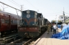 LMG YDM4 6578 at Lumding Jct after arrival with 15696 1615 (P) Agartala - Lumding Jct