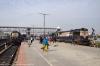 Kamakhya (L-R) MLDT WDM3A 16007 with 55805 0525 New Bongaigaon - Guwahati & MLDT WDM3A 16222 with 15469 0400 Alipurduar Jct - Lumding Jct