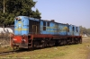 NKE YDM4 6684, probably not likely to work again, awaits its fate at Saharsa