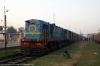 NKE YDM4 6683 at Saharsa Jct after arrival with 52325 1230 Raghopur - Saharsa Jct