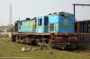 NKE YDM4 6592 being serviced at Jhanjharpur Jct