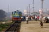 NKE YDM4 6532 waits departure from Sakri Jct with 52517 0830 Sakri Jct - Laukaha Bazar