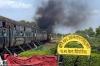 ET WDM2s 16732/17828 depart Pipariya with 11093 0010 Mumbai CST - Varanasi