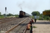 ET WDM3A 18686 runs through Gurra with 14260 2115 (P) Varanasi - Rameswaram
