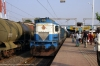 R WDG3A 13218 arrives into Rajnandgaon with 58205 1330 Raipur - Itwari Jct Passenger