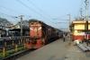 "JHS WDG3A ""Shakti"" 13433 at Mughalsarai with 54109 1640 Mughalsarai - Faizabad Jct passenger"