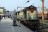 BWN WDM2 17925 waits time at Mughalsarai Jct with 13134 0840 Varanasi Jct - Sealdah