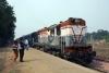 MGS WDM2 18625 at Tarighat with 53646 1320 Tarighat - Dildarnagar passenger