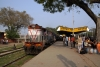 MGS WDM2 18625 at Dildarnagar Jct after arrival with 53646 1320 Tarighat - Dildarnagar Jct