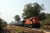 KGP WDM3A 16420 at Badampahar with 58102 1150 Badampahar - Tatanagar via Gorumahisani