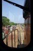 Assistant Loco Pilots view from KGP WDM3A 16420 as it approaches Chhanua with 58102 1150 Badampahar - Tatanagar via Gorumahisani, where my cab ride came to an end