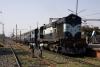 KGP WDM2 17975 arrives into Madhupur Jct with 53516 1335 Giridih - Madhupur Jct passenger