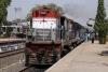 HWH WDM2 17866 departs Bolpur with 13028 0740 Azimganj Jct - Howrah