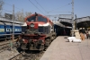 RTM WDM2 (Jumbo) 17797 at Indore Jct after arrival with 59306 0815 Ujjain Jct - Indore Jct