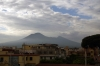Mount Vesuvius, from Pompeii