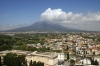 Mt Vesuvius from Sactuary of Our Lady of the Rosary bell tower