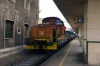 FS 1452027 at Messina Centrale having shunted stock from the ferry to form ICN785 2005 (P) Milano Centrale - Siracusa