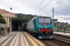 FS 464612 (464014 rear) departs Taormina with 12877 1432 Messina Centrale - Catania Centrale
