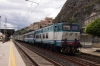 FS E656427 at Taormina with a late running IC724 1025 Siracusa - Milano Centrale