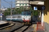 FS E656489 arrives into Catania Centrale with IC722 0733 Siracusa - Messina Centrale