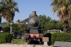 FS steam loco 740072 plinthed at Acireale