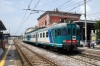 FS Aln668 DMU's 6681882/1870 at Pompeii with 34535 1205 Torre A. Centrale - Nocera Inferiore