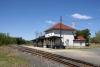 Cranbery Portage Railway Station, Manitoba, Canada