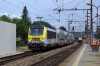 CFL 3007 arrives into Mersch with 3737 1144 Troisvierges - Luxembourg