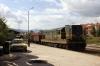 MZ 661223 shunts wagons from the rear of train 660 0805 Skopje - Kicevo to be loaded prior to be taken back to Dorce Petrov on 663 1218 Kicevo - Skopje