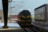 A very unwell MZ 661146 arrives into Skopje with its one coach to form IC892 1620 Skopje - Pristina (Kosovo) which departed 69 late!