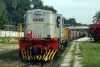YDM4 6633 at Bukit Mertajam with a ballast working for Sungai Petani