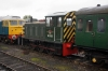 Class 04 D2325 waits its turn to do shuttles in the sidings at Mangapps Railway Museum