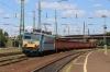 MAV 630041 runs into Debrecen with a freight