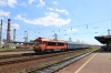 MAV M41 418120 at Debrecen with DB 480015 & Floyd 450008 (Ex UK 86242) stabled in the yard