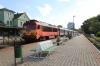 MAV 418118 waits to depart Balatonalmandi with 19700 0700 Budapest Deli - Tapolca