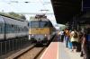 MAV 431002 arrives into Siofok with Ex1857 0919 Nagykanizsa - Budapest Deli