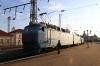 UZ ChS8-126 waits to depart Lviv with 081K 2102 (P) Kyiv Pas. - Uzhhorod