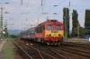 MAV M41 418165 arrives into Szerencs with S521 1604 Sarospatak - Budapest Keleti