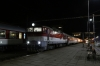 ZSSK 757010 waits departure from Kosice OS with R800 2127 Presov - Bratislava Nove Mesto