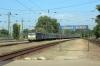 MAV 431074 arrives into Kobanya Kispest with IC722 0853 Budapest Nyugati - Szeged