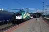 GySev Cargo 182570 departs Kelenfold with IC922 1010 Budapest Keleti - Szombathely